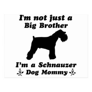 schnauzer Dog Designs Postcard