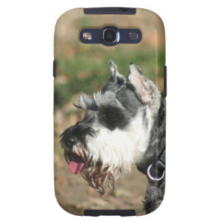 Schnauzer dog galaxy s3 cover
