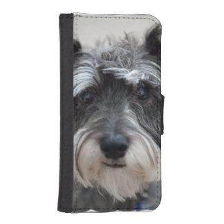 Schnauzer Dog iPhone SE/5/5s Wallet