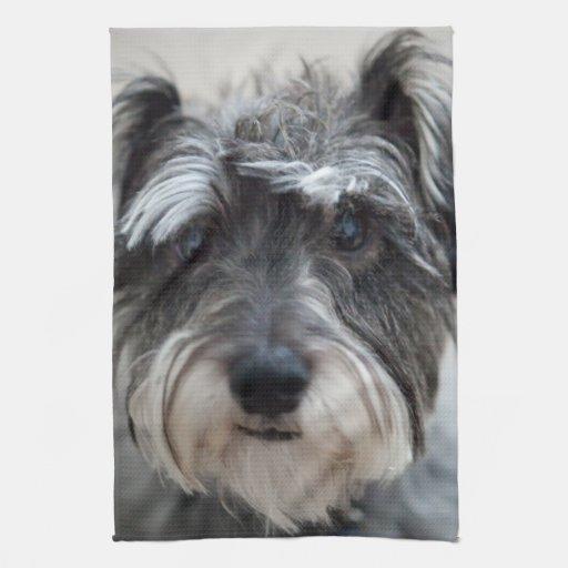 Schnauzer Dog Kitchen Towel