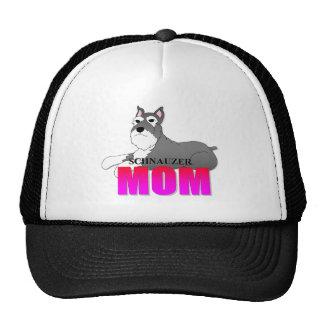 Schnauzer Dog Mom Trucker Hat