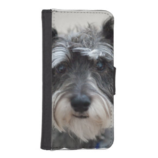 Schnauzer Dog Phone Wallet
