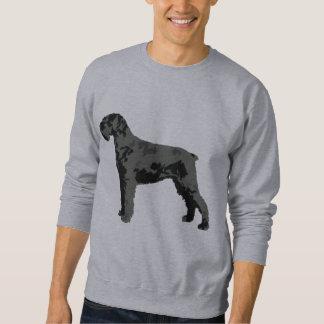 Schnauzer/dog quote sweatshirt