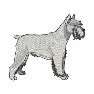 Schnauzer Embroidered Polo Shirt