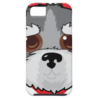 Schnauzer Face iPhone SE/5/5s Case