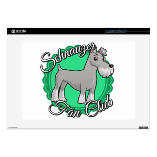 Schnauzer Fan Club Skins For Laptops