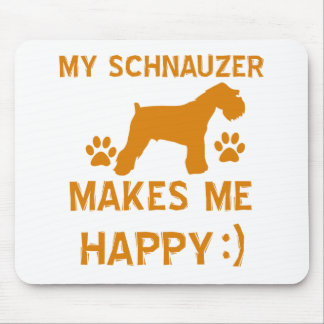 Schnauzer gift items mouse pad