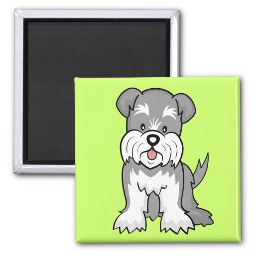 Schnauzer Gifts and Merchandise Fridge Magnets