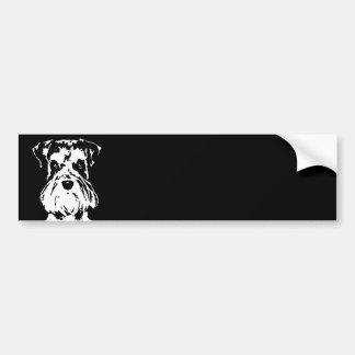 Schnauzer Gifts - Bumper Sticker