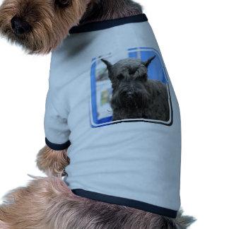 Schnauzer gigante camiseta de perro