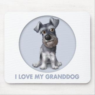 Schnauzer Granddog Mouse Mats
