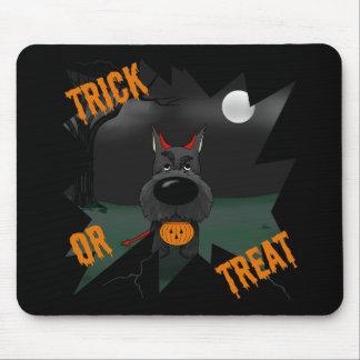 Schnauzer Halloween Alfombrillas De Raton