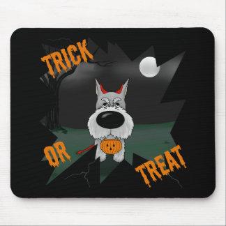 Schnauzer Halloween Tapete De Ratones