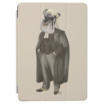 Lawyer Themed Schnauzer Lawyer 2 iPad Air Cover
