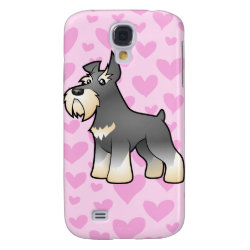 Case-Mate Barely There Samsung Galaxy S4 Case with Miniature Schnauzer Phone Cases design