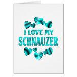 SCHNAUZER Love Greeting Cards