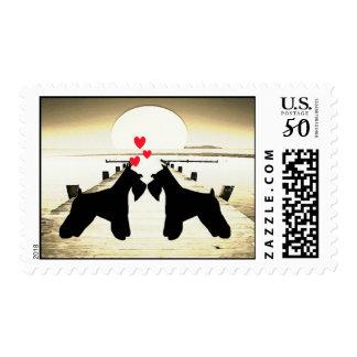 Schnauzer Love Postage