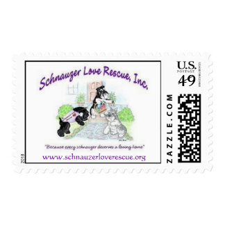 Schnauzer Love Rescue, Inc. Postage
