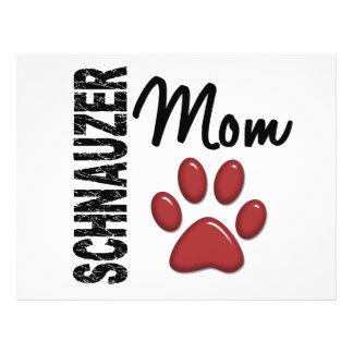 Schnauzer Mom 2 Full Color Flyer
