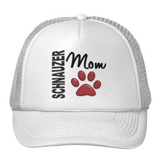 Schnauzer Mom 2 Mesh Hats