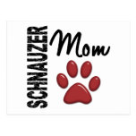 Schnauzer Mom 2 Post Card