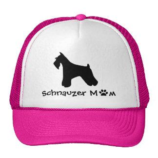 Schnauzer Mom Cap Trucker Hat