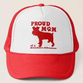SCHNAUZER MOM TRUCKER HAT