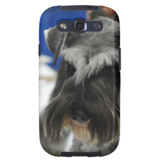 Schnauzer Mustached Galaxy S3 Carcasas