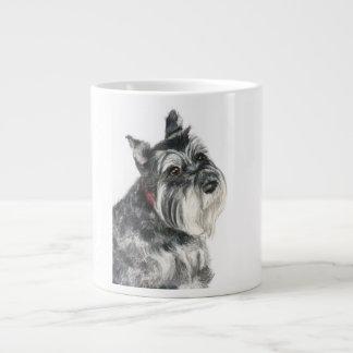 Schnauzer Painting Large Coffee Mug
