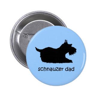 Schnauzer Pinback Button