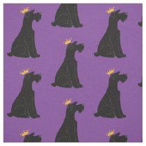 Schnauzer Prince Fabric