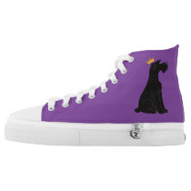Schnauzer Prince High-Top Sneakers
