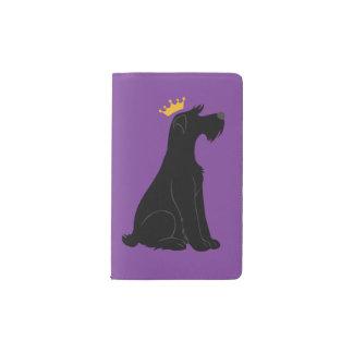 Schnauzer Prince Pocket Moleskine Notebook