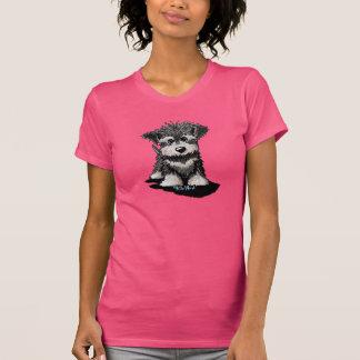 Schnauzer Puppy Tshirts