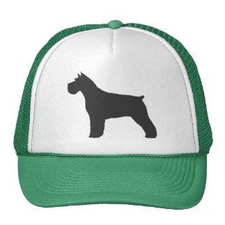 Schnauzer Silhouette Trucker Hat