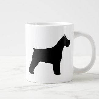 Schnauzer Silhouettes Giant Coffee Mug