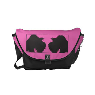Schnauzer Small Messenger Bag