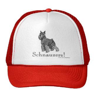 Schnauzer Trucker Hats