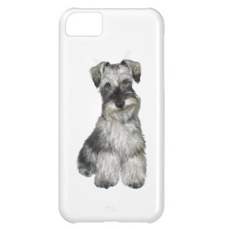 Schnauzer (V) - (natural ears) iPhone 5C Case