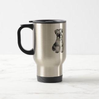Schnauzer (V) -  (natural ears) Travel Mug