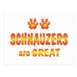 Schnauzers are Great Post Cards