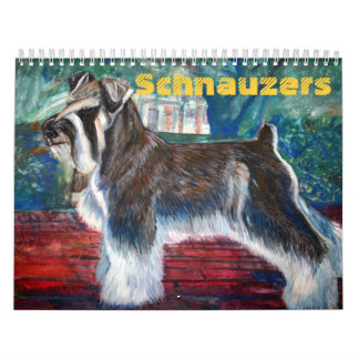 Schnauzers Calendar