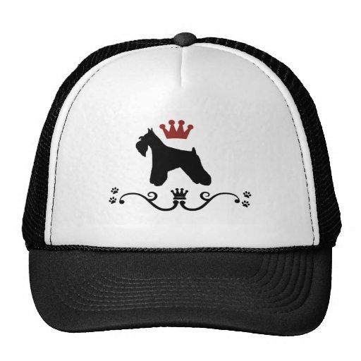 Schnauzers Rule Cap Mesh Hat