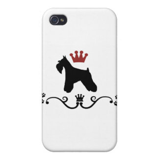 Schnauzers Rule iPhone 4/4S Cases