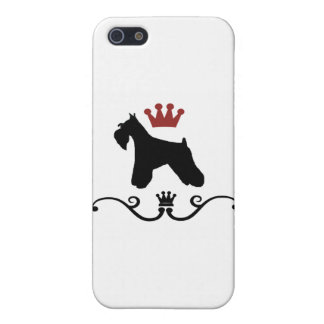Schnauzers Rule iPhone SE/5/5s Cover