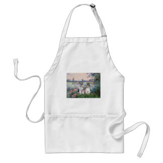 Schnauzers (two) - By the Seine Adult Apron