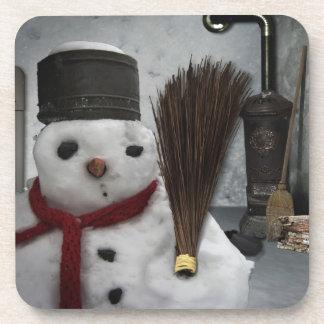 Schneemann at home - snowman RK home Coaster