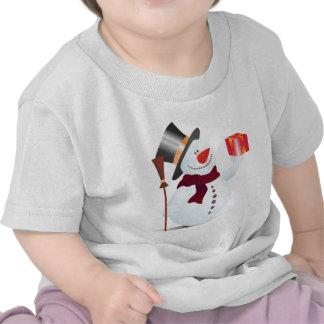Schneemann/muñeco de nieve para el navidad/Navidad Camisetas