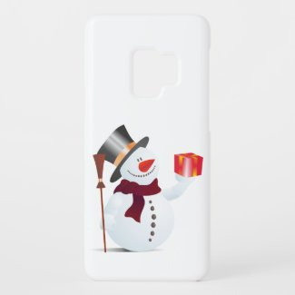 Schneemann / Snowman for Christmas / X-mas Case-Mate Samsung Galaxy S9 Case
