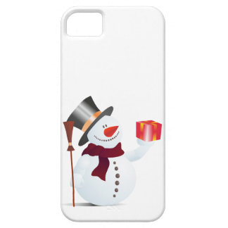 Schneemann / Snowman for Christmas / X-mas iPhone SE/5/5s Case